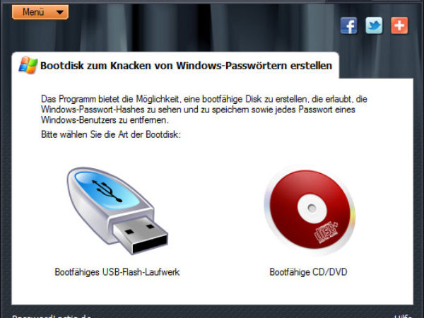 Windows Password Recovery Lastic 1.0