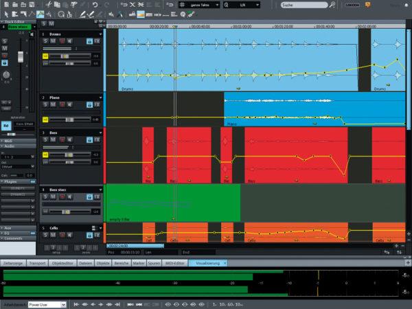 Samplitude Music Studio MX