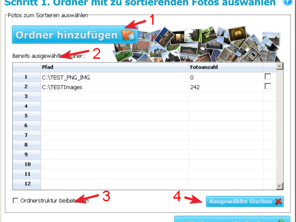 EINFACHER FOTOSORTIERER 3.1