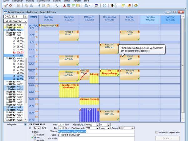 !Quando - der elektronische Lehrerkalender