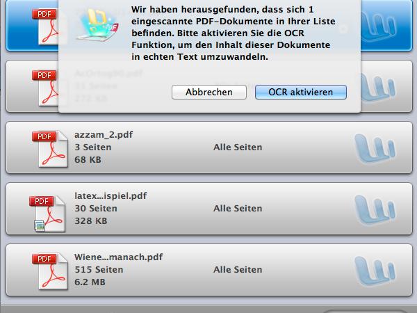 Wondershare PDF Converter Pro für Mac