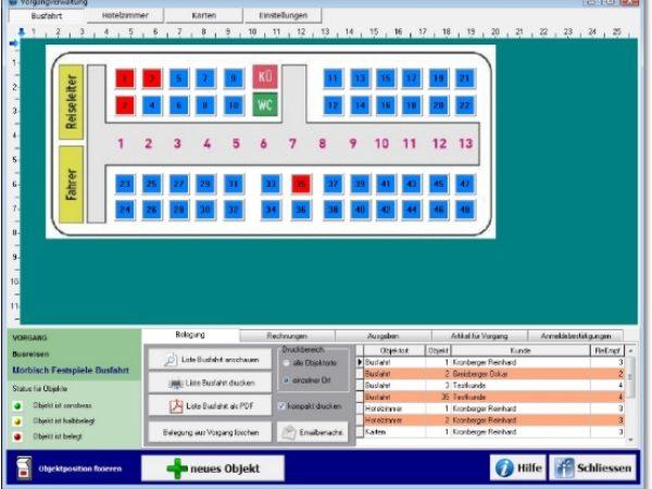 KRO4TRAVEL Reiseveranstalter Software für Reisebus Reisen usw.