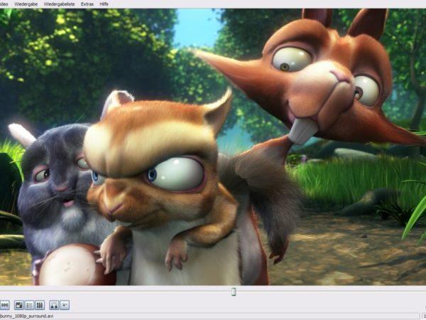 VideoLAN - VLC media player - Goldeneye   mit freeware-download Toolbar