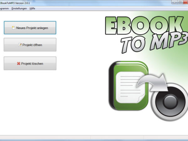 EBook to MP3
