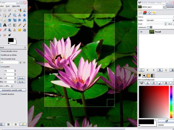 Gimp 2.6.1 mit freeware-download Toolbar