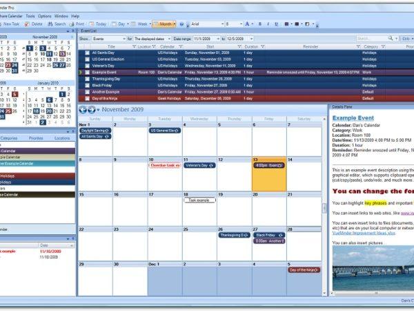 VueMinder Calendar Pro 7.2.1