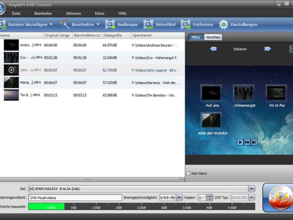 AnyMP4 DVD Creator 6.0.80