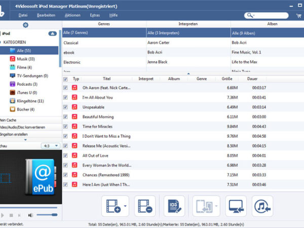 iPod Manager Platinum 7.0.08