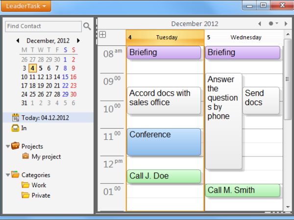 LeaderTask Daily Planner 8.2.3.1