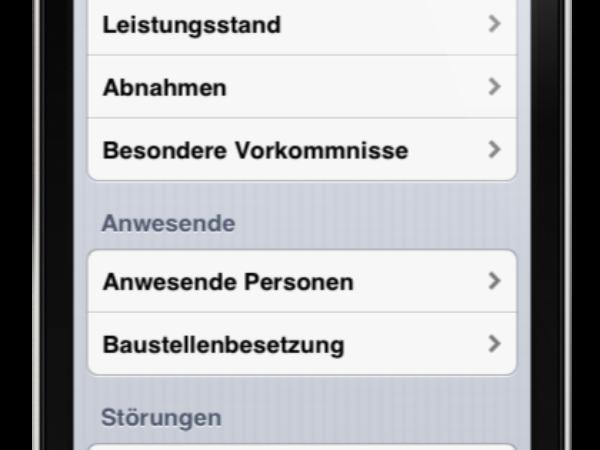 Bauskript Bautagebuch App iOS + Android