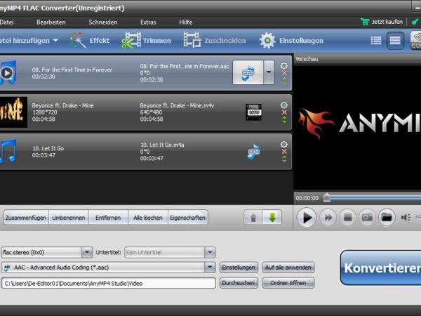 AnyMP4 FLAC Converter 6.2.66