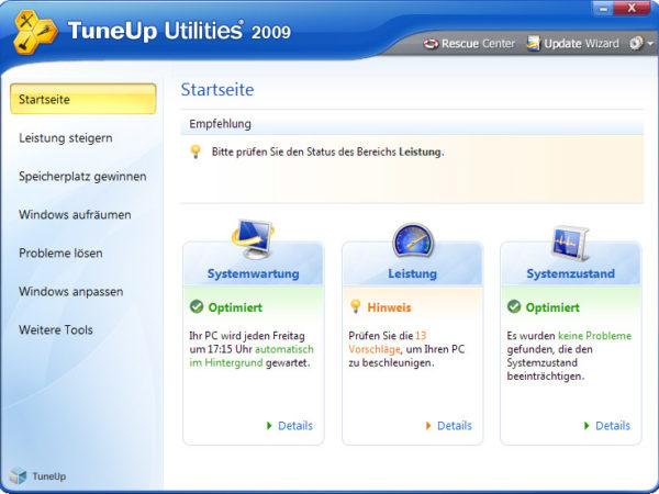 tuneup 2009 kostenlos vollversion