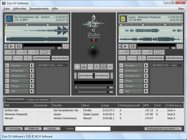 Zulu DJ-Software