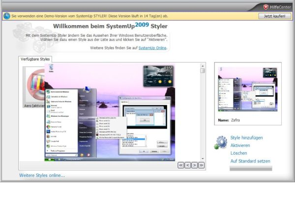 SystemUp Styler 2009