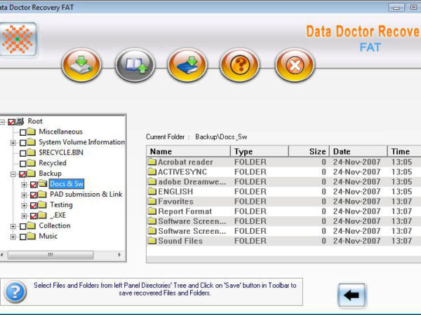 Data Recovery Software for FAT