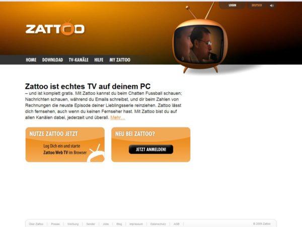 Zattoo für Mac OS X