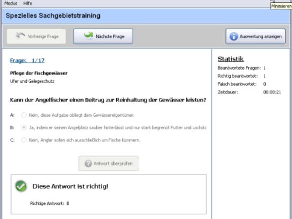 Fischereiprüfung Brandenburg