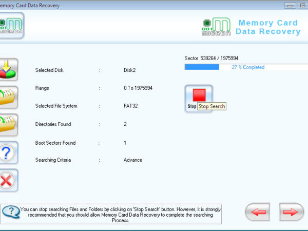 Corrupted Memory Stick Recovery