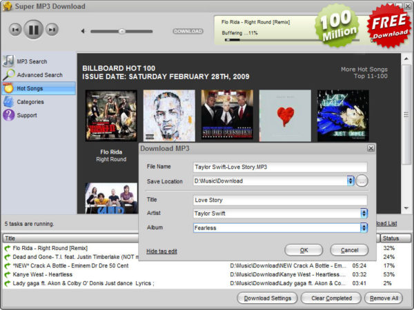 Super MP3 Download 3.2.2.6