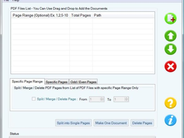 Merging and Appending PDF Files Software