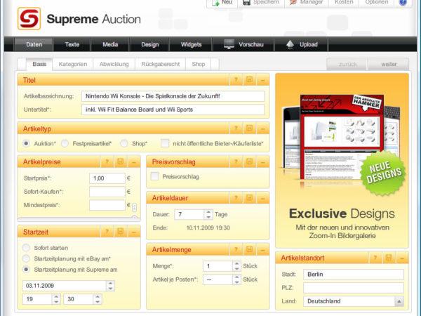 Supreme Auction 6.0