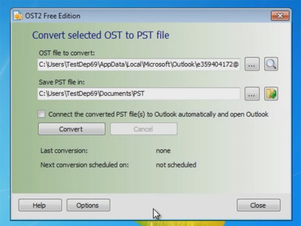 OST to PST converter Free Tool