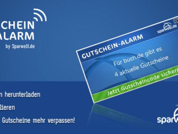 SPARWELT-Gutschein-Alarm