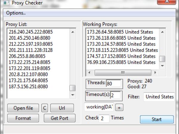 Proxy Check Tool