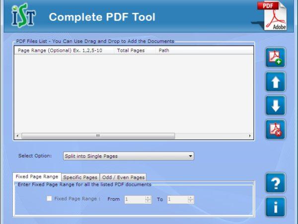PDF Splitter Free Software