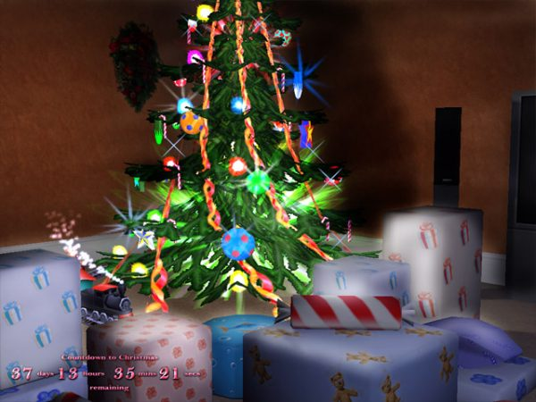 3D Merry Xmas Screensaver