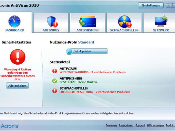 Acronis Antivirus 2010