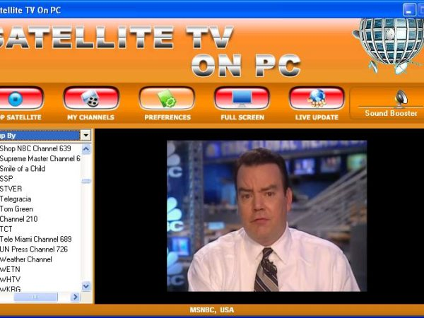 Satellite TV To PC