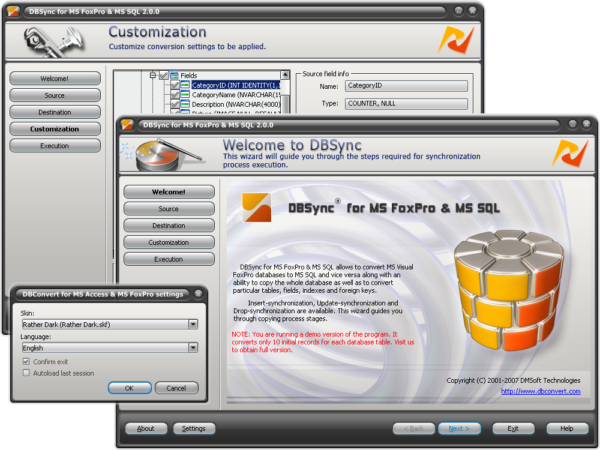 FoxPro2MSSQL SYNC