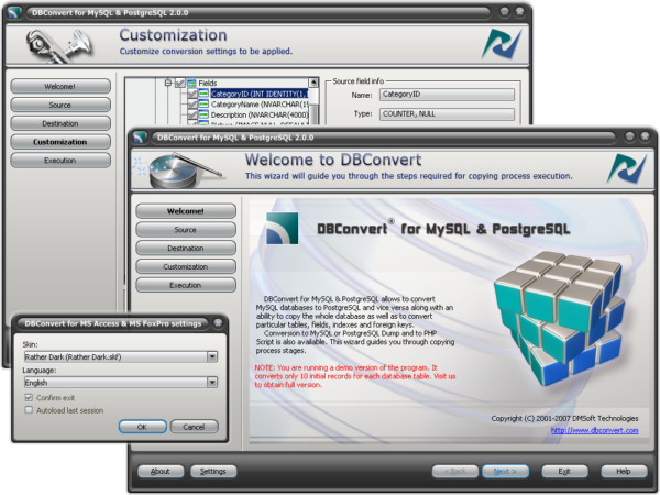 MySQL2PostgreSQL PRO