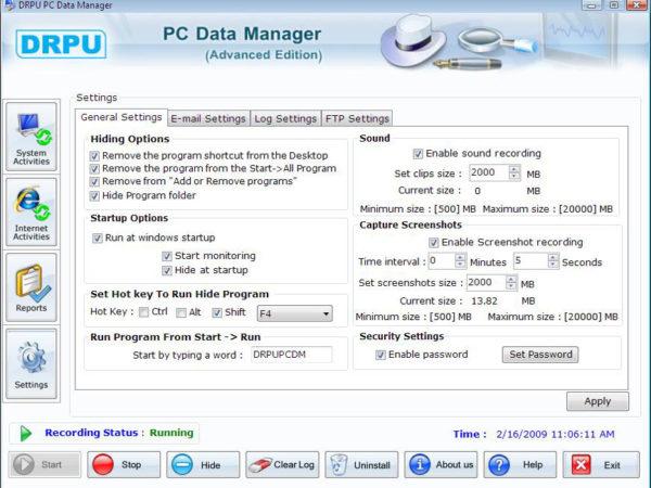 COmputer monitoring 5.0.1.5