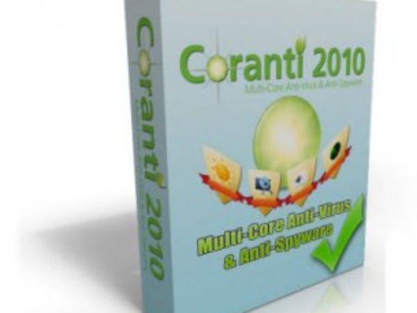 Coranti 2010 MultiCore AntiVirus AntiSpyware