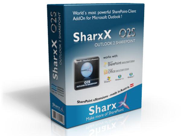 SharxX O2S Outlook 2 SharePoint (Vers. 2.0.1.316)