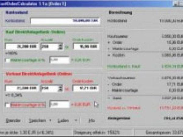 FastOrderCalculator 1.1b