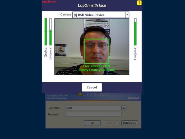 smile-in face logon tool for Windows 2.0.1