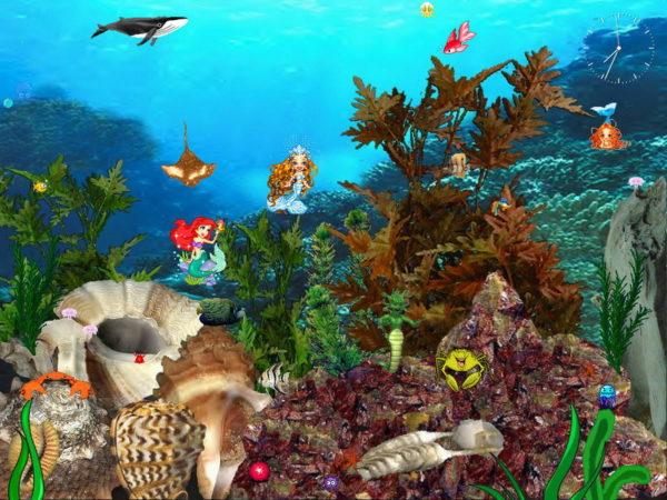 Mermaids Kingdom Screensaver 1.0