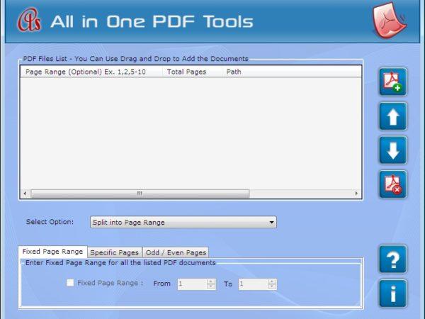 Adobe PDF Splitter