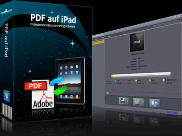 mediAvatar PDF auf iPad 3.0.1.0826