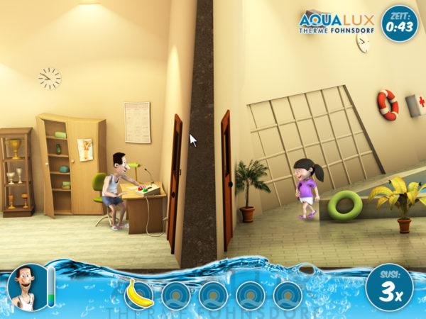 Aquajux - Das Spiel