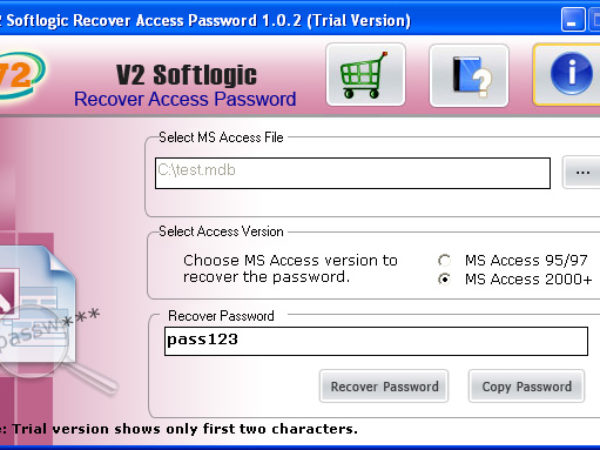 Access Database Password Recovery