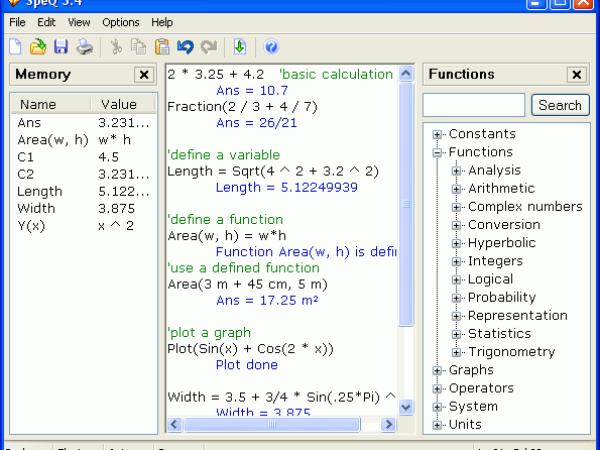 SpeQ Mathematics 3.4