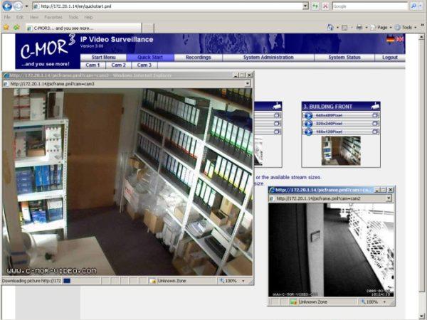 C-MOR Videoüberwachung freie VM