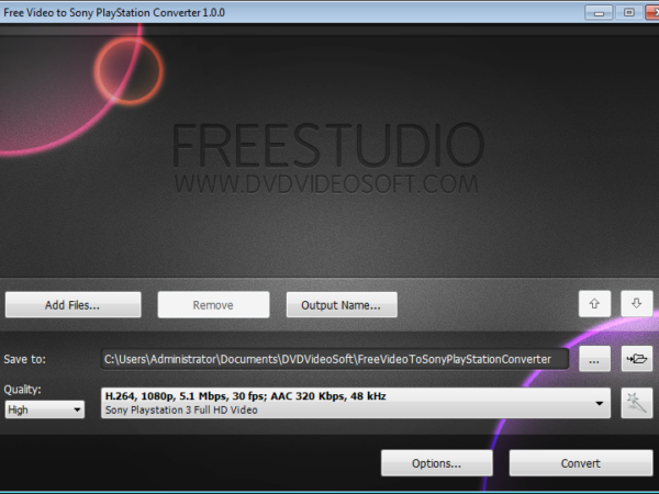 Free Video to Sony PlayStation Converter 5.0.9