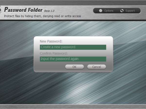 Password Folder 1.1 Beta