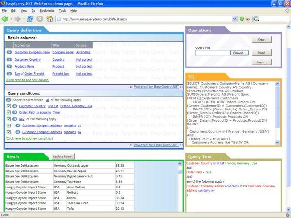 EasyQuery.NET WebForms 2.8.0