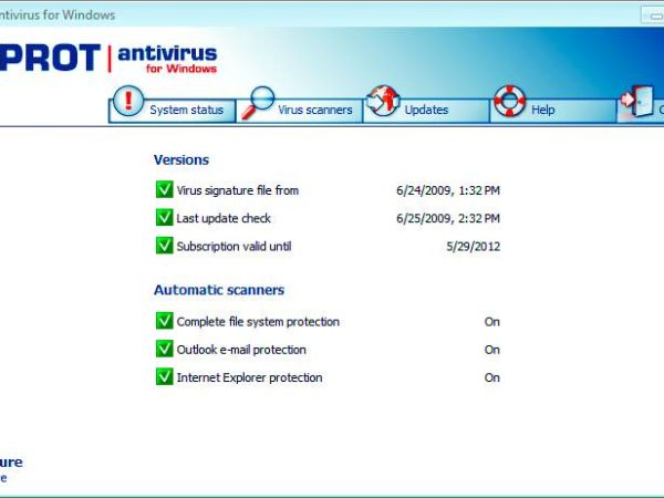 F-PROT Antivirus for Windows 32Bit